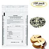 Benail Clear Deposit Bags Security Pocket Bank 9 x 12 Inch (100 pack)