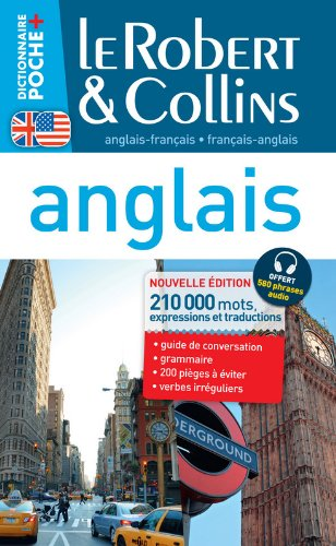 Dictionnaire Le Robert & Collins Poche Plus anglais - francais et francais - anglais - English and French Dictionary