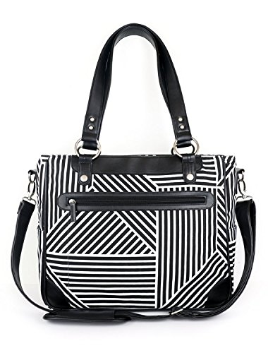 kailo-chic-laptop-camera-ipad-bag-black-and-white-lines