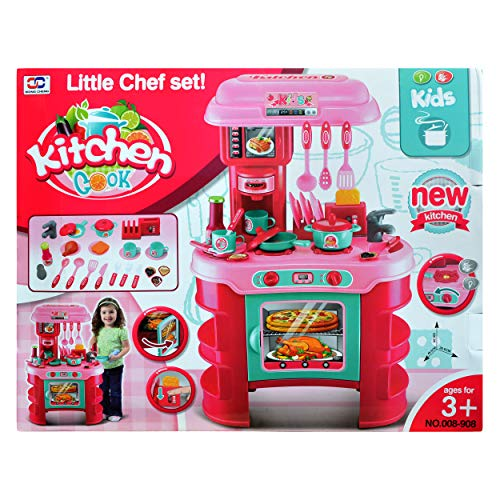 Jimmy S Toys Kids Play Kitchen Set Stove Oven And Utensils For