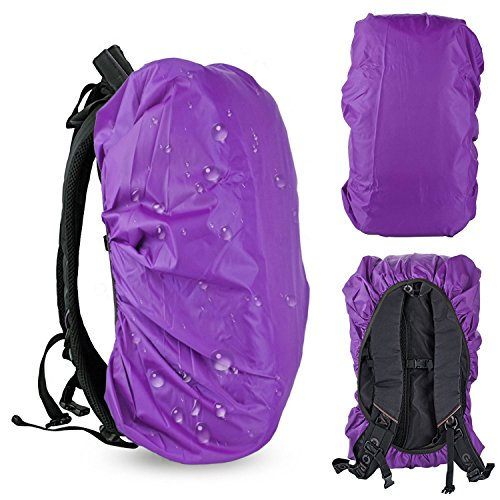 Waterproof Backpack Rain Cover, Ultralight Water Resistant Stored Bag Suitable for 30-40L Backpack, Rainproof Protector Pack Covers For Camping, Hiking, Climbing, Cycling Traveling Outdoor - Climbing Bag Camera