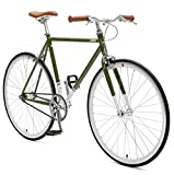Retrospec Harper Single-Speed Fixed Gear Urban Commuter Bike