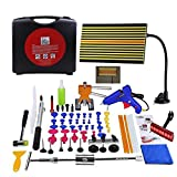 HITSAN Super PDR 60pcs Auto Car Body Paintless Dent Removal Repair Tool Kits One Piece