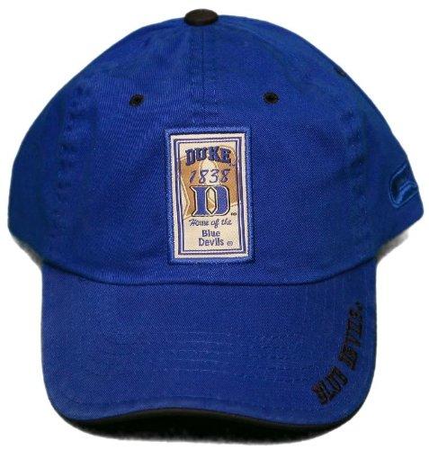 Colosseum Duke Blue Devils Hat - Adjustable Buckle Back- Embroidered Cap