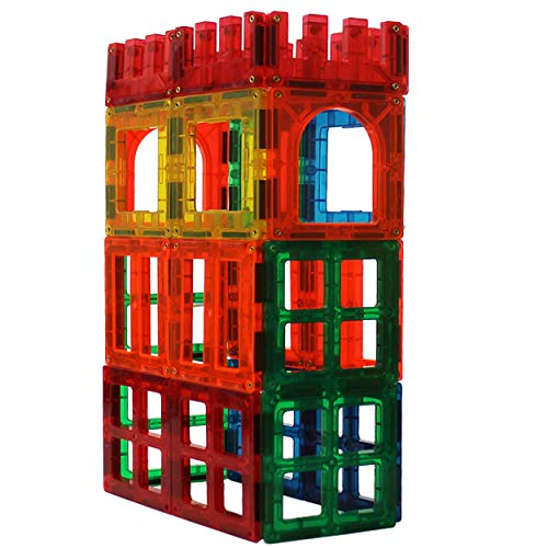 Magnetic Stick N Stack Award Winning 24 Piece Window, Fences and Doors Set. Made with Power+Magnets