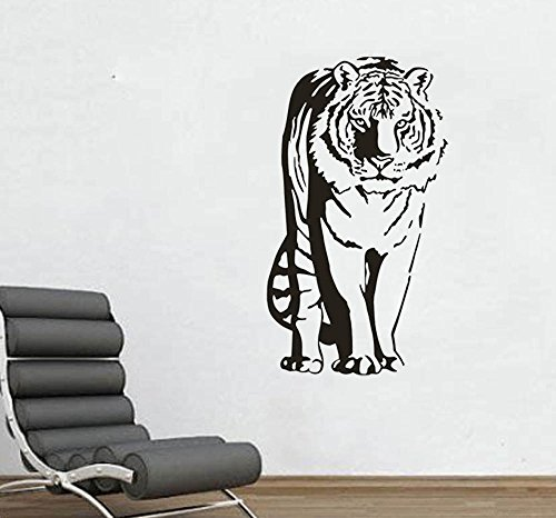 Tiger Standing large Wall Decal 22