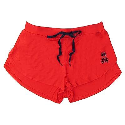 Psycho Bunny Women's Scalloped Modal Lounge Shorts at Amazon Women's Clothing store