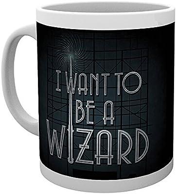 GB Eye LTD,Animales fantásticos y dónde encontrarlos,I Want to be a Wizard,Taza: Amazon.es: Hogar