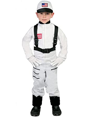 Guirca grafoplas SL. – Traje Astronauta Niño 7/9 de nni, Color Blanco, 82767