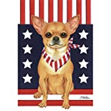 Best of Breed Chihuahua Patriotic Breed Garden Flag Review