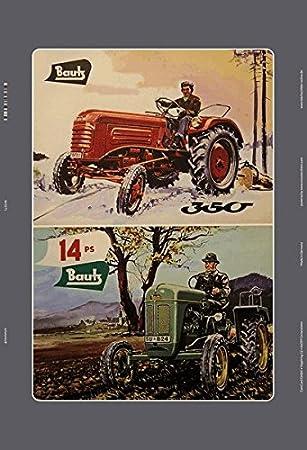 ComCard Bautz 350 / 14PS Diesel schlepper Traktor Trekker