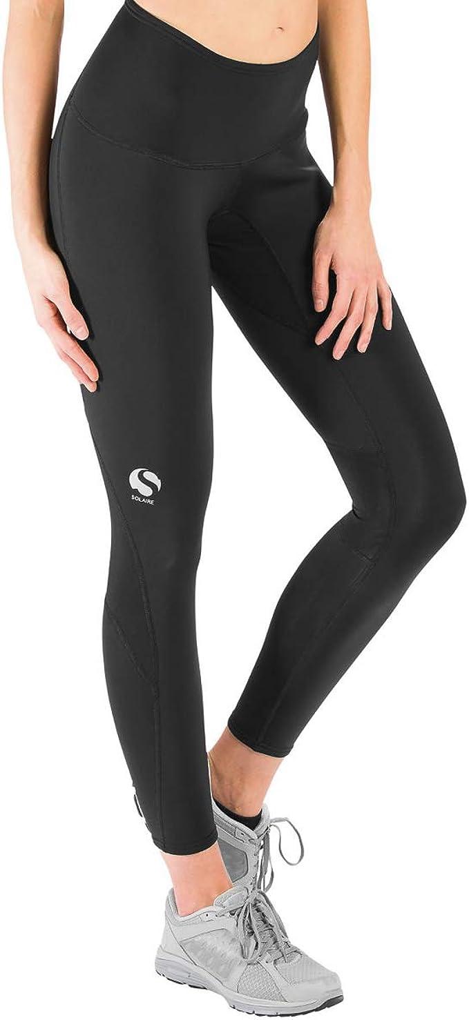 Workout Running Butt Lift Compression Leggings with Pockets OVRUNS High Waist Gym Leggings for Women