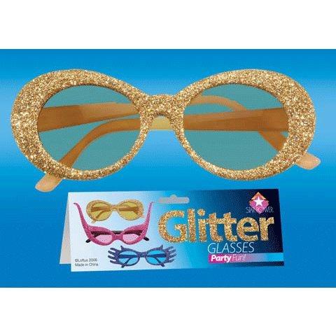 Loftus International Loftus Fancy Glitter Rock Star Sunglasses, Assorted, One Size Novelty Item