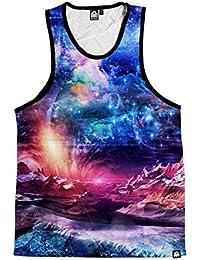 Galaxy Print Men's Casual Sleeveless Tank Top Shirts