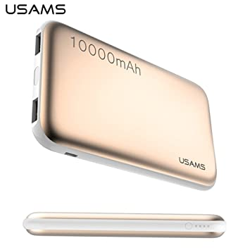 USAMS US-CD03 Power Bank 10000 mAh doble USB universal ...