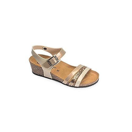 VALLEVERDE Sandalo Donna Tortora 92d23ca7162