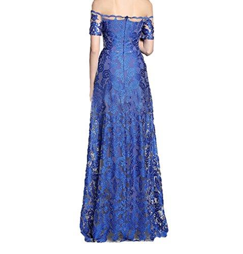 Royal La 2018 Braut Lang Ballkleider Spitze mia Blau Bodenlang Brautmutterkleider Abendkleider Linie Promkleider A rq7BCrwp