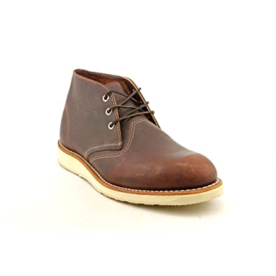 56622f504c5 Red Wing Men's Heritage Work Chukka, Brown Briar Oil Slick Leather ...