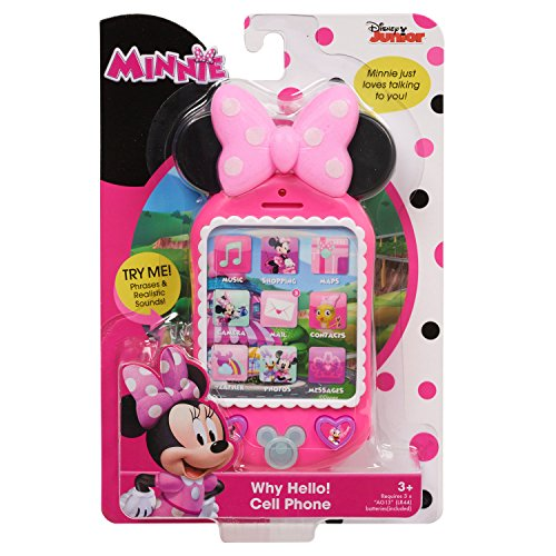 Minnie's Happy Helpers Why Hello! Cell Phone - http://coolthings.us