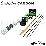Orvis Superfine Carbon 3wt 7'6'' Fly Rod Outfit (7'6'', 3wt , 4pc)