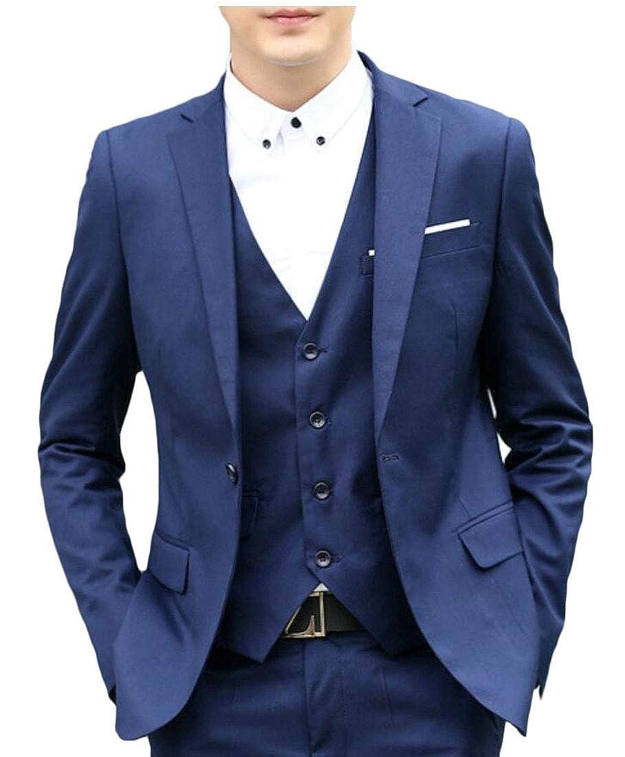 M/&S/&W Men Suit Slim Fit 2-Piece Suit Blazer Dress Business Wedding Party Jacket /& Pant
