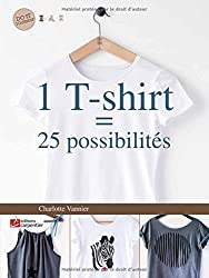 1 T-shirt = 25 possibilités
