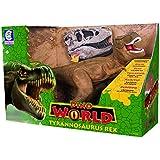 Dino World Tyrannosaurus Rex Cotiplás Marrom