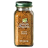 Simply Organic Nutmeg Ground Certified Organic, 2.3-Ounce Container
