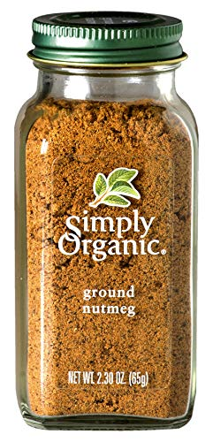 Simply Organic Nutmeg Ground CERTIFIED ORGANIC 2.3oz. - Ground Sauce Organic