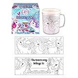 Unicorn Colouring Mug - Colour Your Own Arts & Crafts