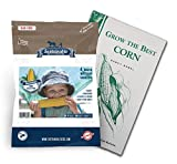 buy Sweetest Corn Seed Collection, 4 Variety Pack of Non-GMO Sweet Corn Seeds, Bodacious, Early Xtra Sweet, Peaches & Cream and Kandy Corn by Sustainable Seed now, new 2020-2019 bestseller, review and Photo, best price $13.95