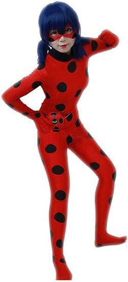 Desconocido Miracolous Ladybug - Traje de Carnaval para ...