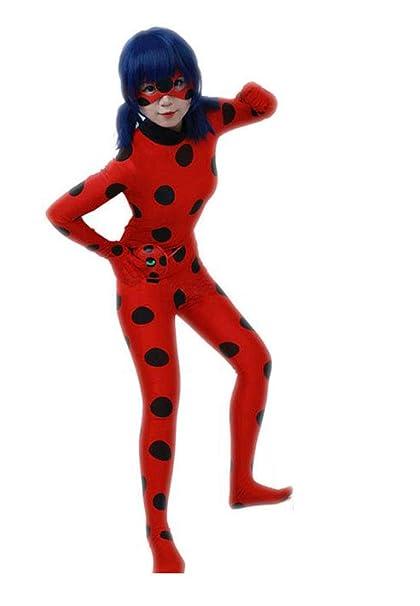 Desconocido Miracolous Ladybug - Traje de Carnaval para Halloween ...