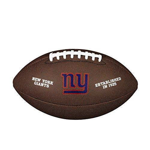 NFL Team Logo Composite Football, Official - New York Giants