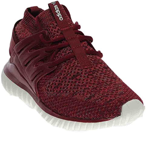 Adidas Mens Tubular Nova Originals Scarpa Da Running Mistero Rosso / Bordeaux Bordeaux-traccia Marrone