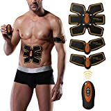 Abdominal Muscle Toner, Charminer Abs Toning Belt EMS Body Fitness Muscle Trainer Home Office Workout Equipment for Men & Women Review