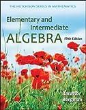 Elementary and Intermediate Algebra 5th Edition