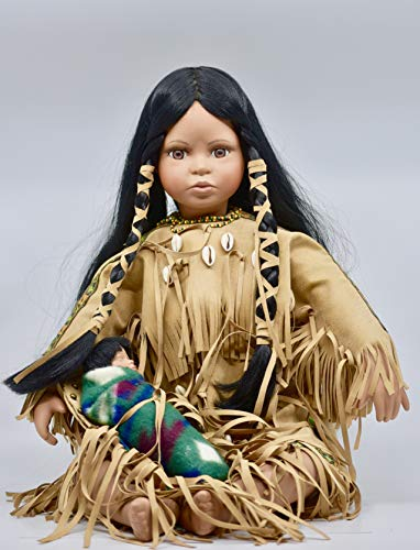 Timeless American Indian Child Doll - Numbered #624/5000 - Rare - Collectible