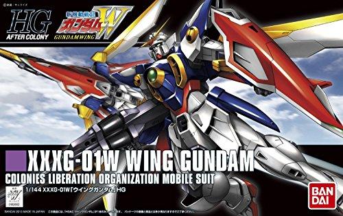 Bandai Hobby #162 HGAC XXXG-01W Wing Gundam Model Kit, 1/144 Scale 144 Scale Plastic Kit