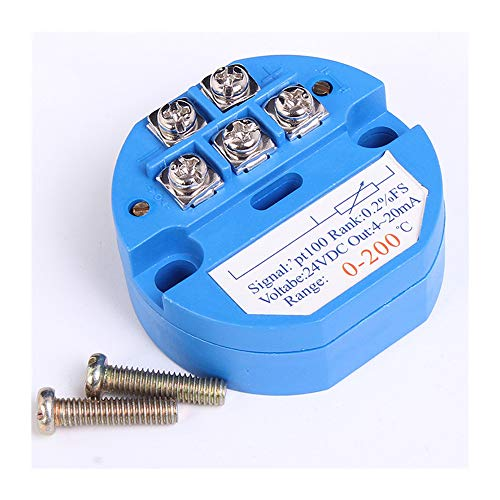 0-200 Celsius RTD PT100 SBW Temperature Sensor Meter Temperature Transmitter Isolated Detector Module 0~200 Degree 4-20MA