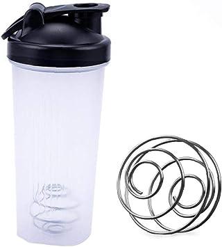 tJexePYK Deportes Shaker Botellas De 600 Ml Botella De La ...