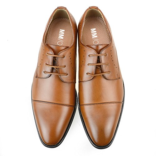 Medallion up Oxford Brown Straight Plain Black toe ONE MM Toe Brown Mens Monkstrap Dark Mpt109 Shoes Lace Tip Bicycle 2 xHqzA8wp
