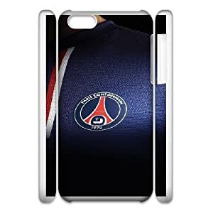 iphone5c Phone Case White ac61 psg paris saint germain fc jersey logo soccer UKT8551595