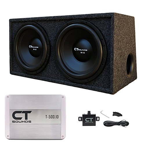 CT Sounds 2.0 Dual 12 Inch Subwoofer Bass Package in Port...
