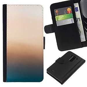JackGot ( Pink Glow ) LG G3 la tarjeta de Crédito Slots PU Funda de cuero Monedero caso cubierta de piel