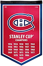 NHL Montreal Canadiens Victory Banner, 12 x 18-inches