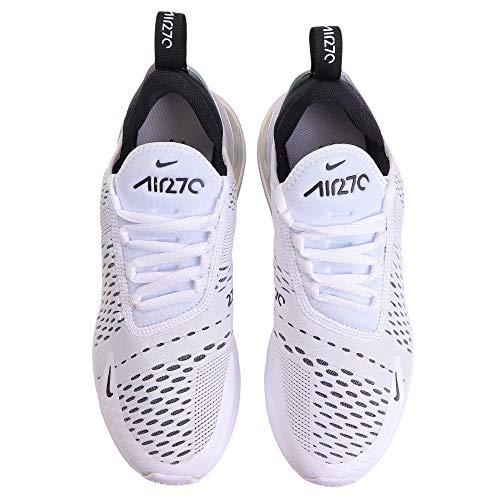 Nike womens Nike Women's Air Max 270 White/Black Ah6789-100 3