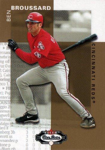 2002 Fleer Box Score Gold #143 Ben Broussard /2499