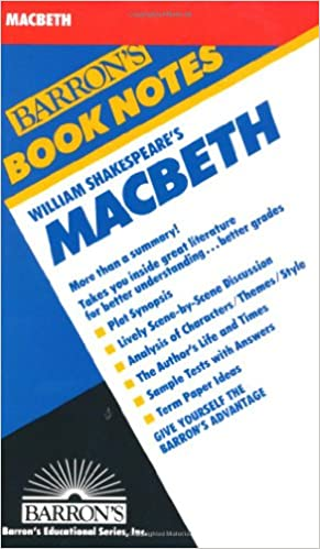 Amazon william shakespeares macbeth barrons book notes william shakespeares macbeth barrons book notes fandeluxe Choice Image
