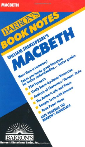 William Shakespeare's Macbeth (Barron's Book Notes)